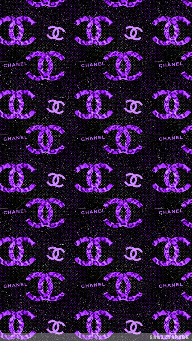 Free Download Chanel Wallpaper Tumblr Purple Chanel Iphone