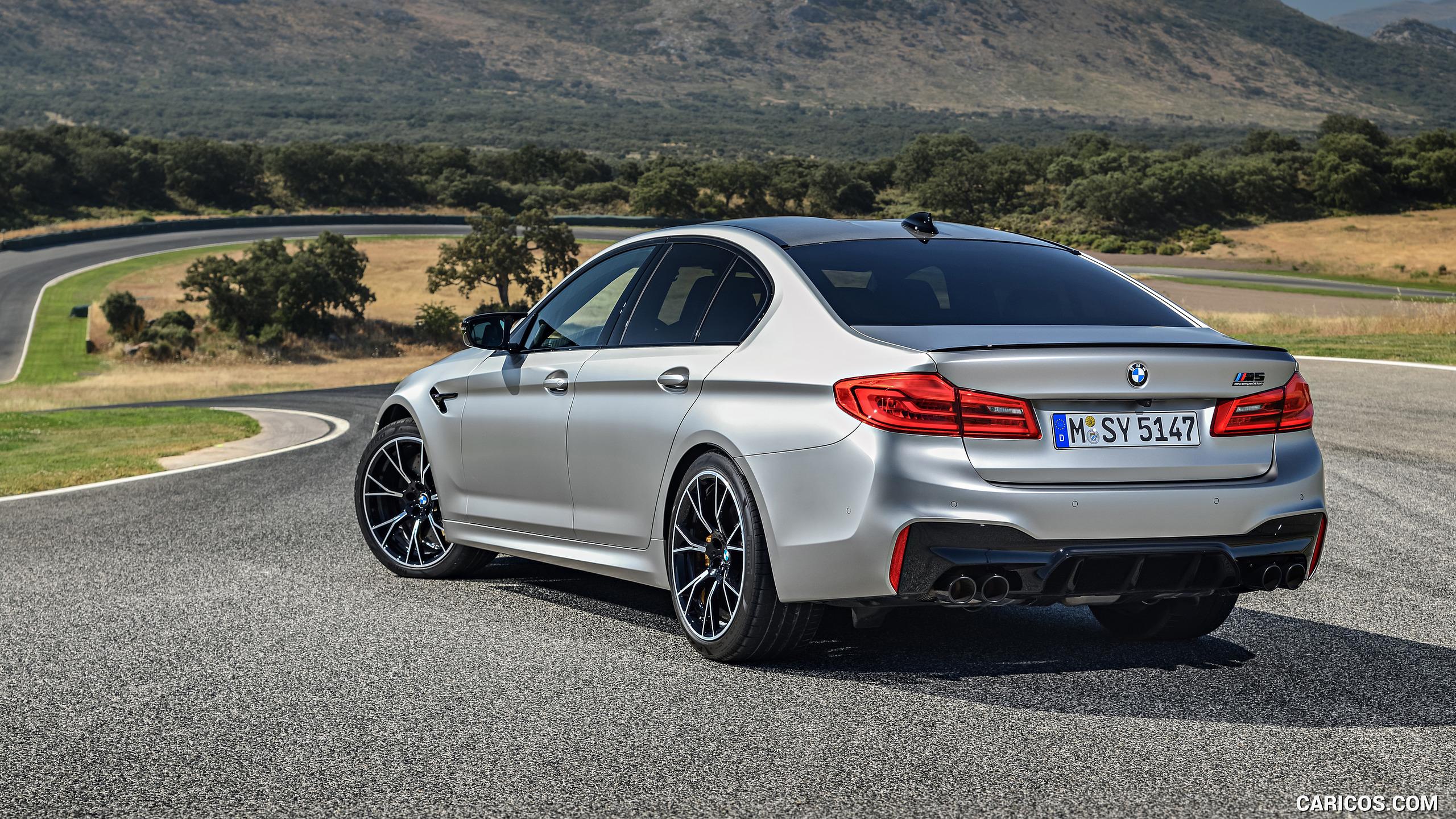 2019 BMW M5 Competition   Rear Three Quarter HD Wallpaper 110 2560x1440