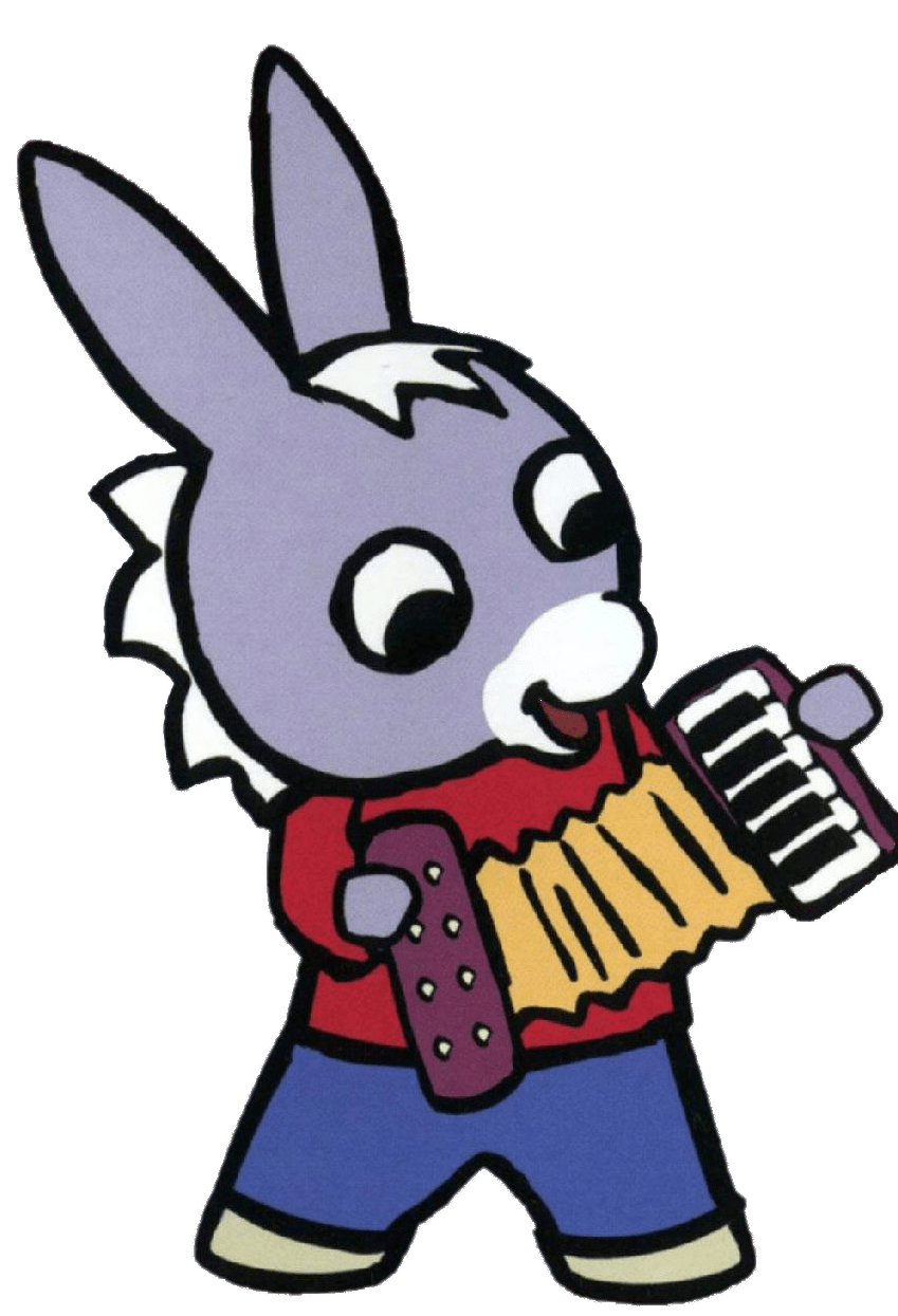 Trotro Playing the Accordion transparent PNG   StickPNG 849x1245