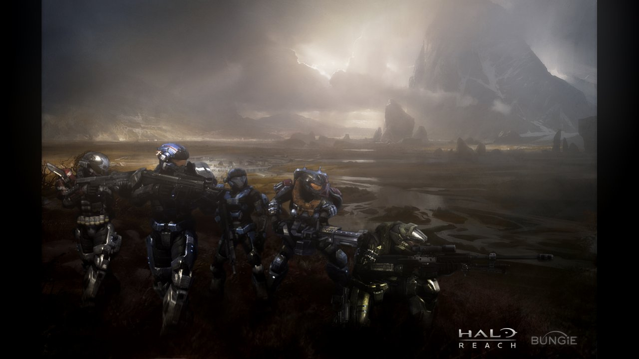 Halo Reach 1080p Wallpaper Halo Reach 720p Wallpaper 1280x720