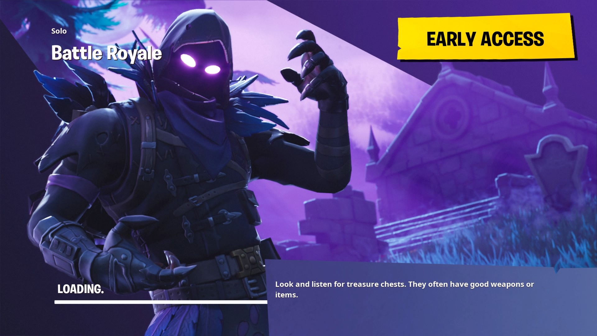Fortnite Raven Loading Screen Wallpaper 64832 1920x1080px 1920x1080