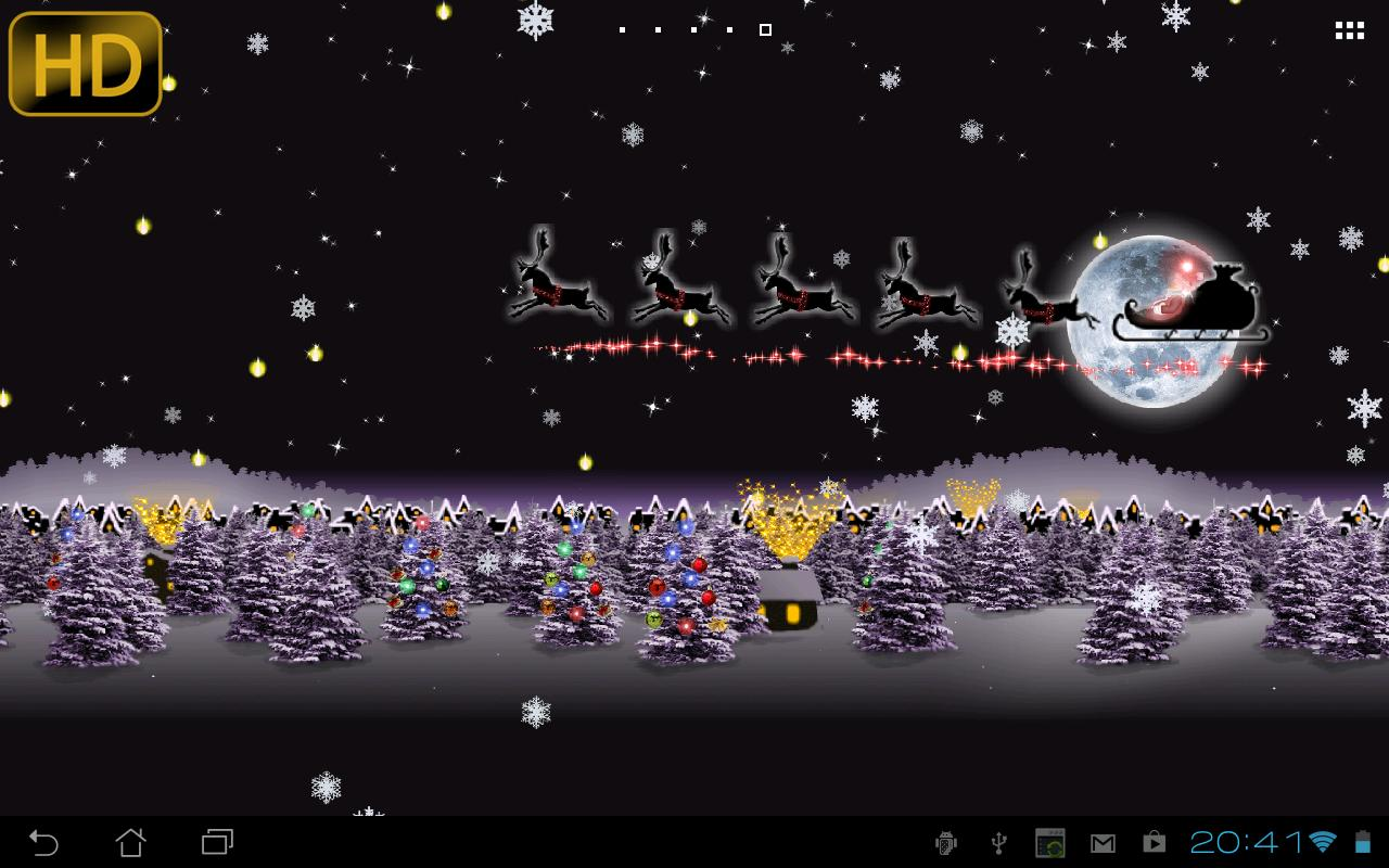 Christmas Live Wallpaper   Android Apps on Google Play 1280x800