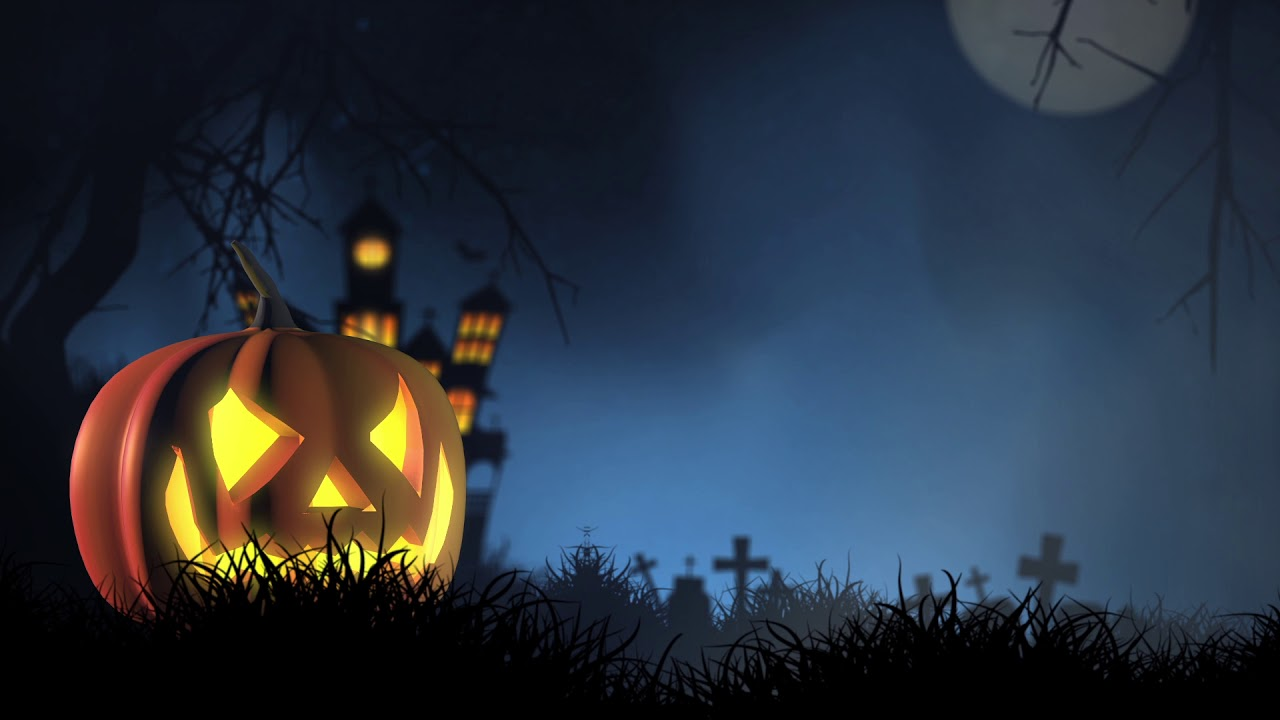 Halloween Video Background 1280x720