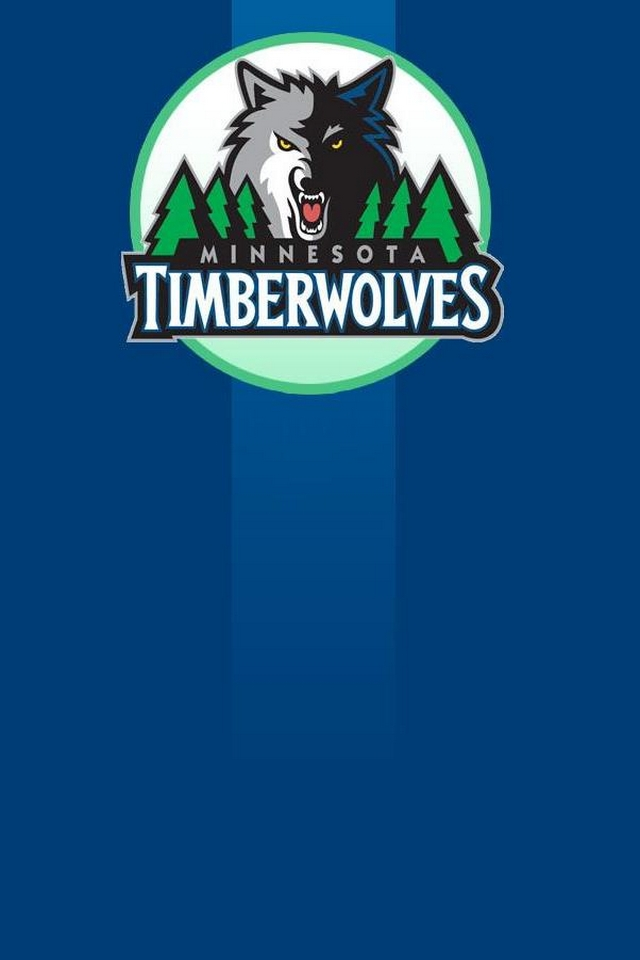 Minnesota Timberwolves NBA iphone Android wallpaper 640x960