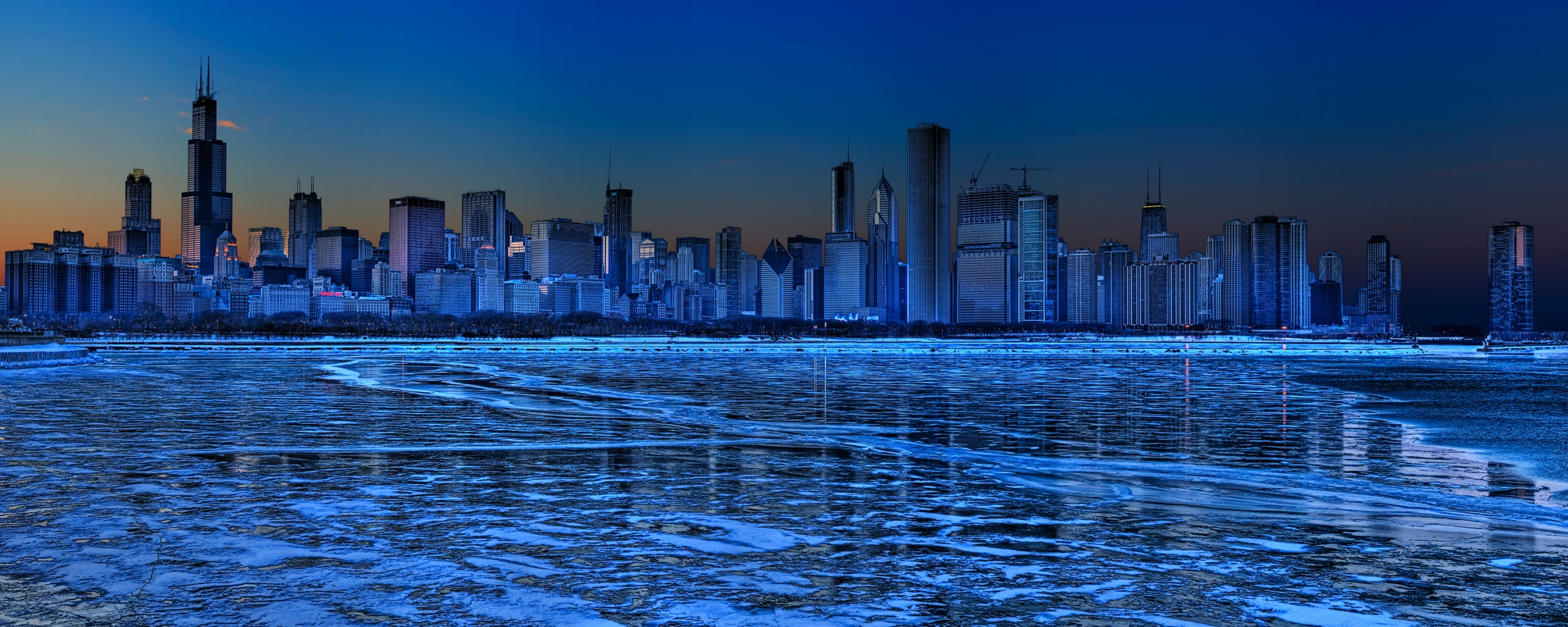 Chicago Dual Monitor Wallpapers HD Wallpapers 2560x1024