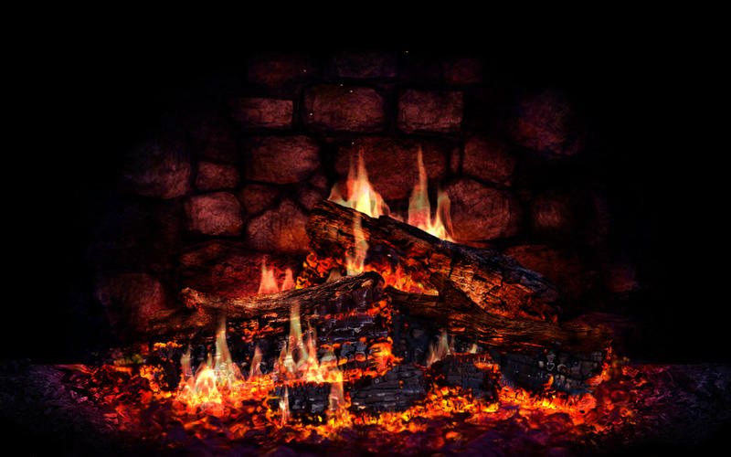 Fireplace 3D Lite on the Mac App Store 800x500