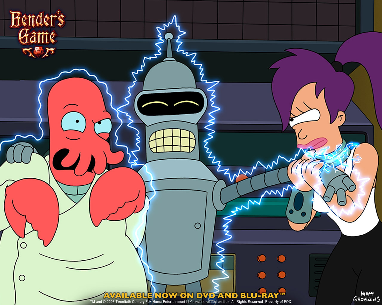 Futurama Benders Game 1280x1024