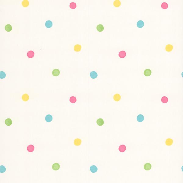 443 90517 White Polka Dots   Sprinkles   Brewster Wallpaper 600x600