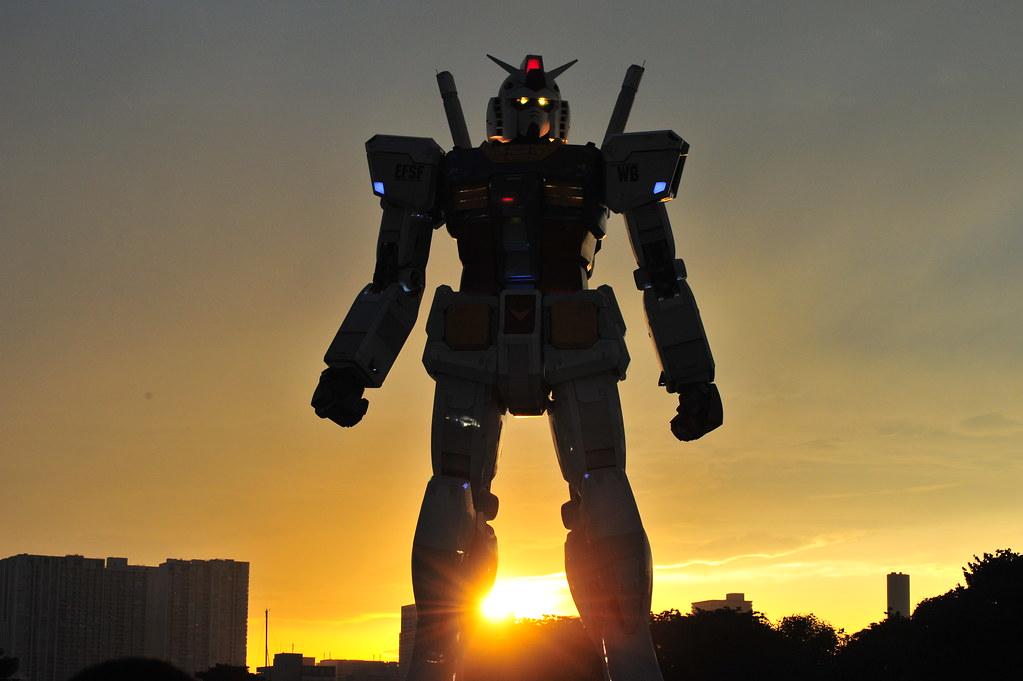 Gundam Odaiba wallpaper shibuya246com Shibuya246 Flickr 1023x681