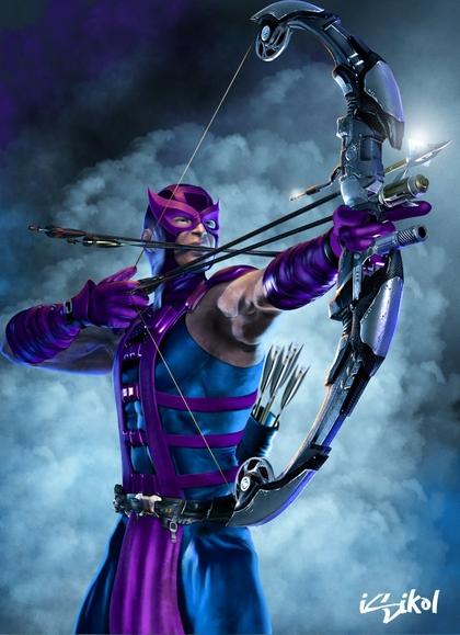 marvel comics hawkeye bow weapon 1280x1767 wallpaper Art HD Wallpaper 420x579