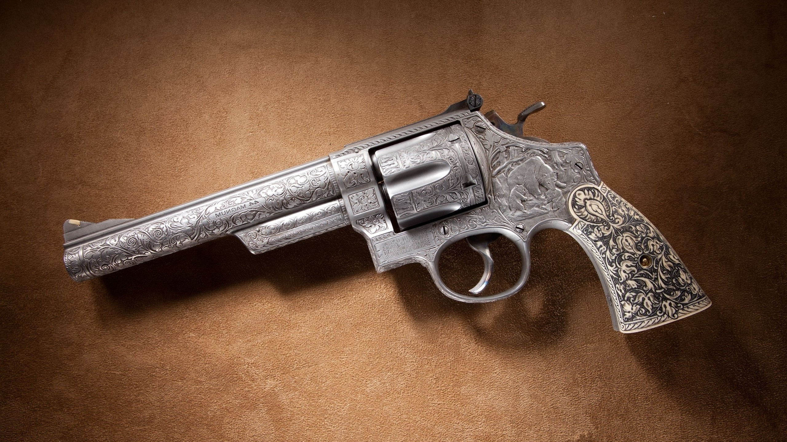 Smith and Wesson Pistol Gun Wallpapers HD 2560x1440