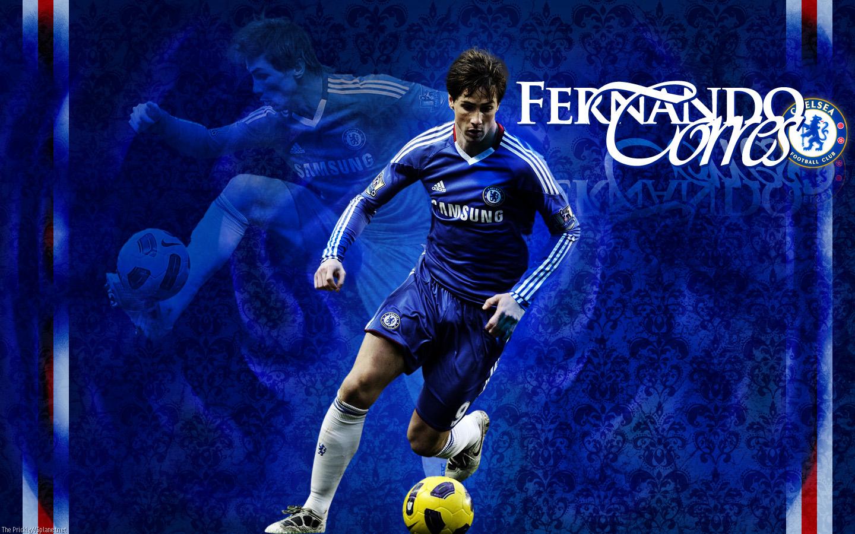 Fernando Torres Chelsea Football Players Names 1440x900