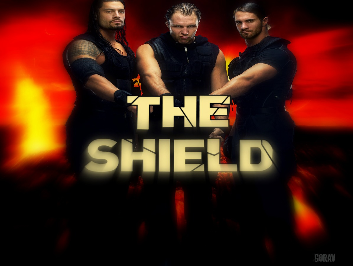 The Shield wallpaper 2013 HD   WWE Photo 34627604 1195x900