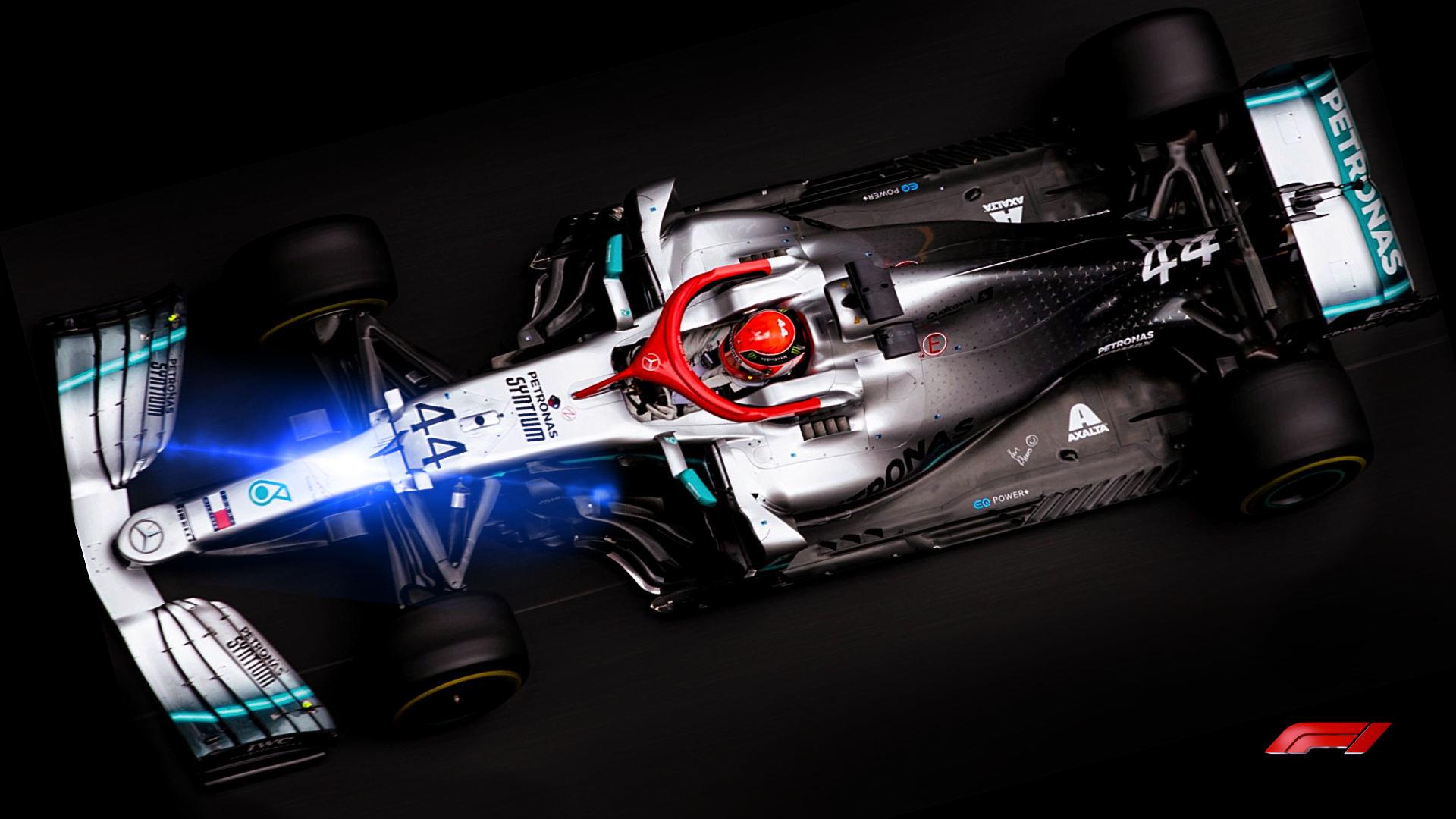 Mercedes 2020 F1 Car W11 Wallpaper 1920x1080
