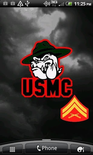 Marine Corps Live Wallpapers App for Android 307x512