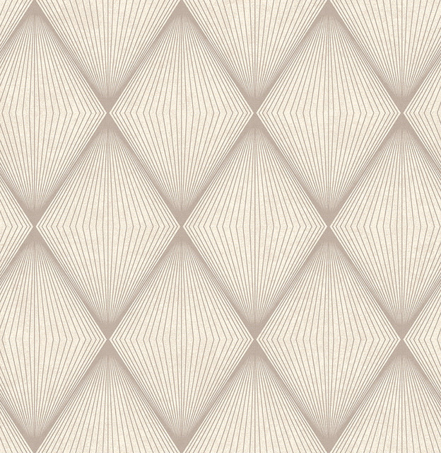 Apothem Brown Geometric Wallpaper Swatch   Modern   Wallpaper   by 624x640