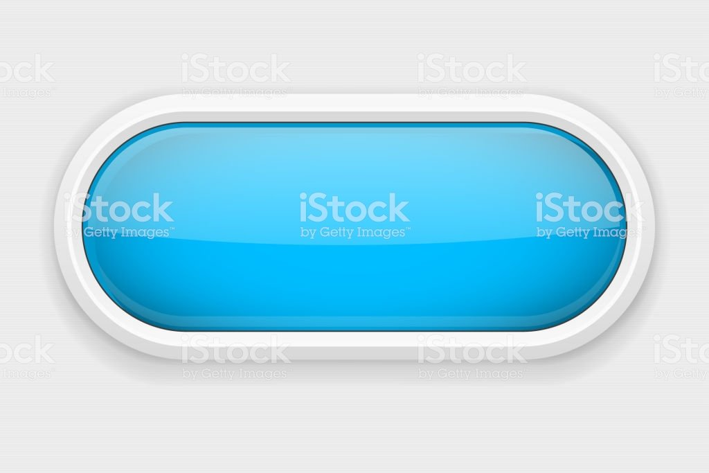 Blue Shiny Oval Button On White Matted Background Web Interface 1024x683