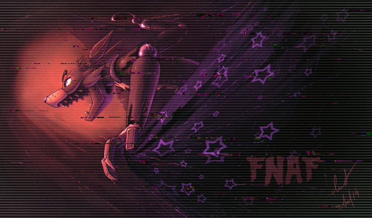 FNaF   Foxy by Ann Nick 1280x750