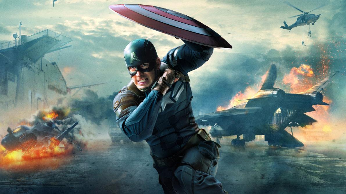 Captain America TWS Wallpaper 1920x1080 by sachso74 on deviantART 1191x670