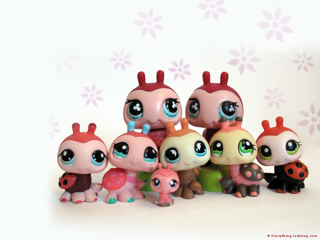 LPS Ladybug Wallpaper 1024 x768 1024x768