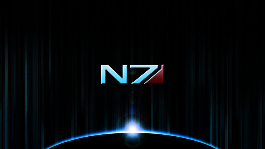 Free Download Mass Effect Wallpaper 1 N7 By Rayzorflash