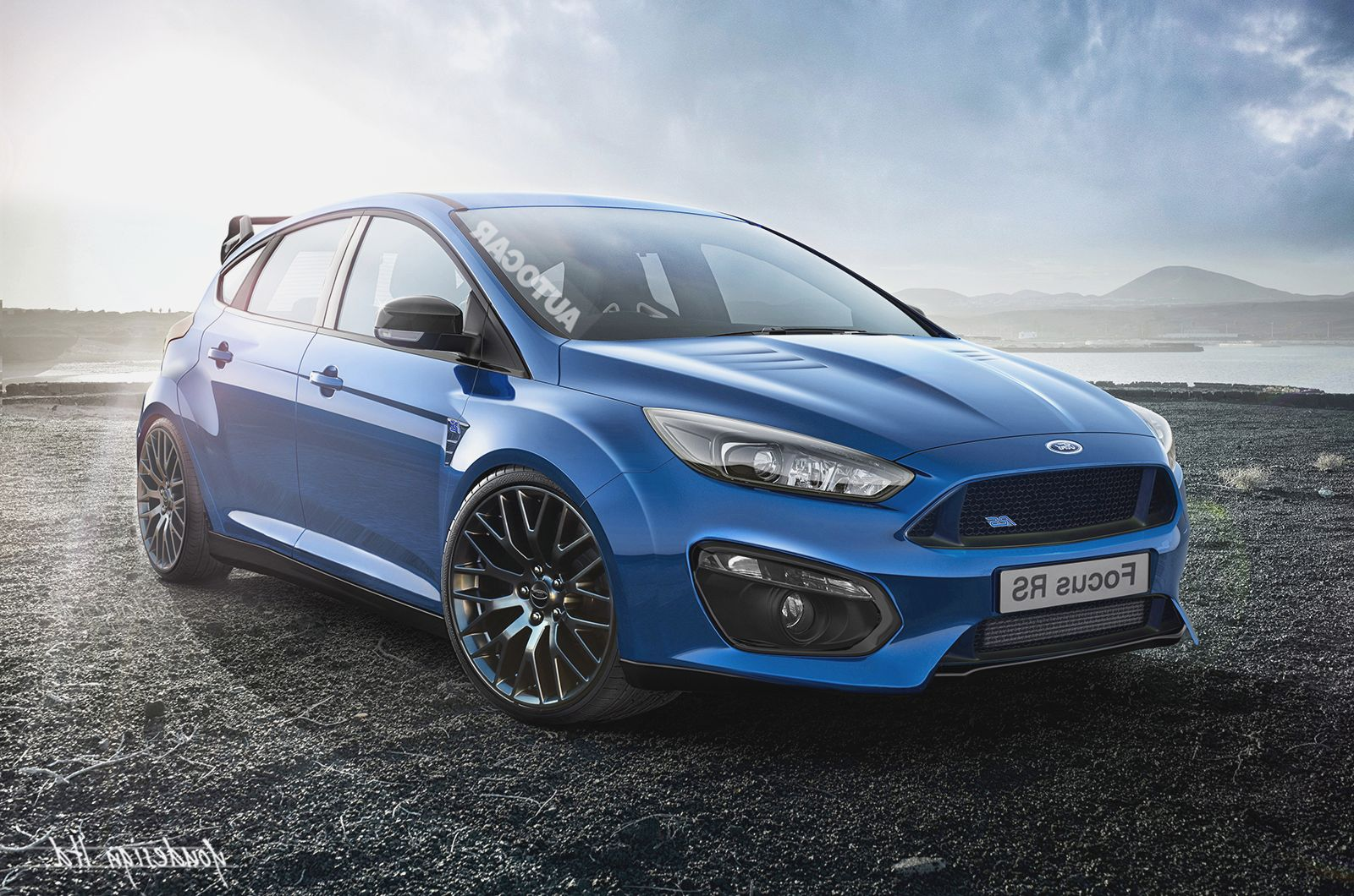 Ford Focus RS Wallpaper 2016 Full HD Pictures 1600x1060