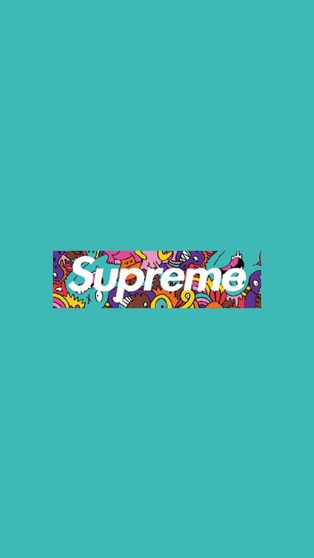 Supreme[61] iPhone wallpapers in 2019 Supreme 640x1136