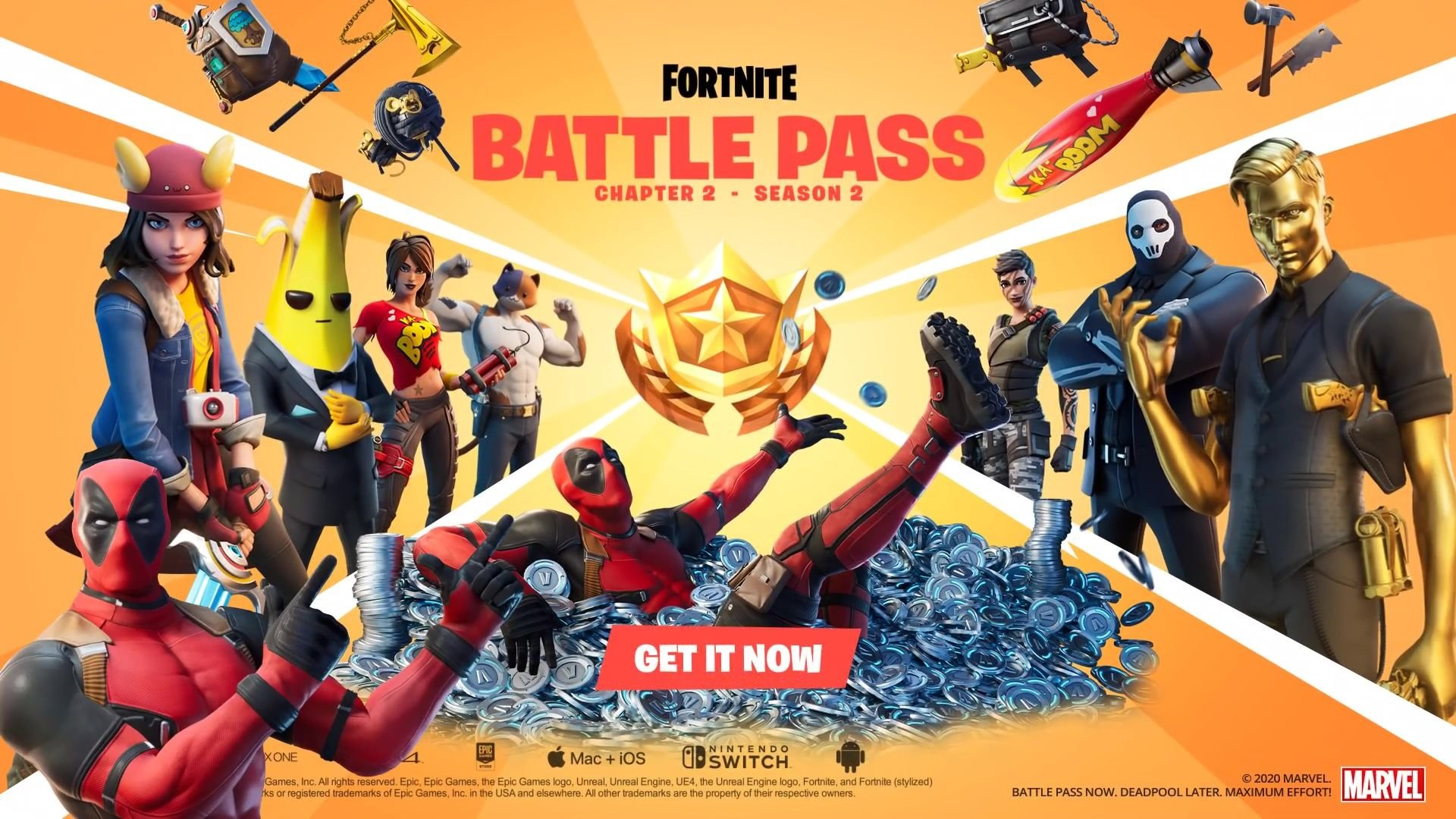 Fortnite Chapter 2 Season 2 is all about secret agents and 1920x1080