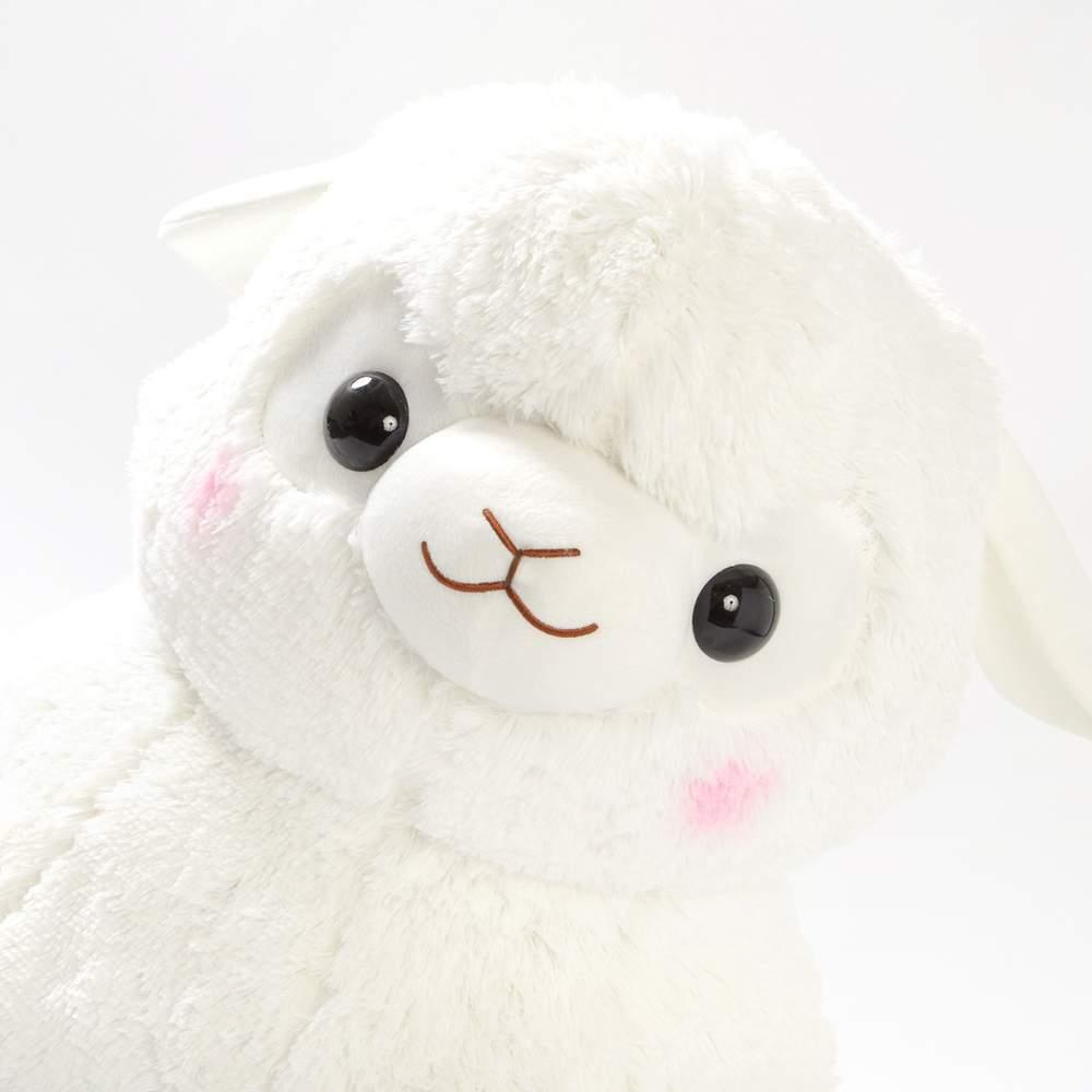 Shipping] Baby Alpacasso Alpaca White Plush Super Jumbo 1000x1000