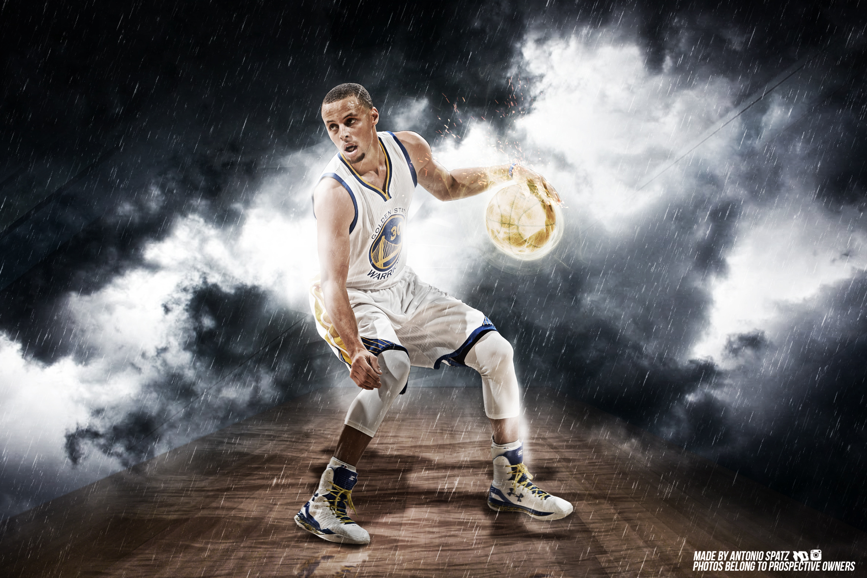Stephen Curry Wallpaper by mulasdesigns 1772x1181