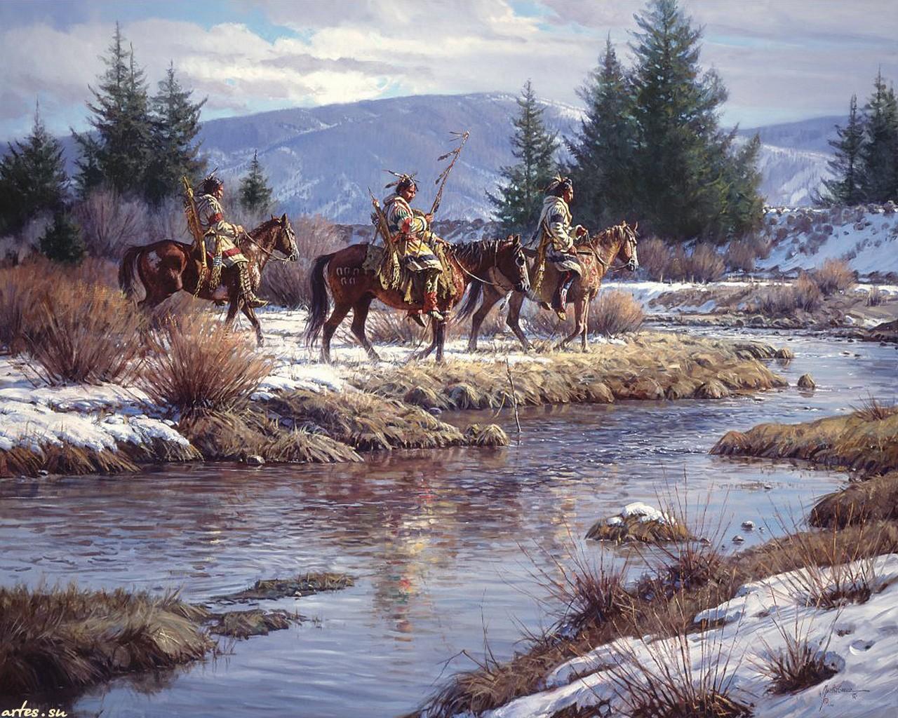 native american Wallpaper Background 12483 1280x1024