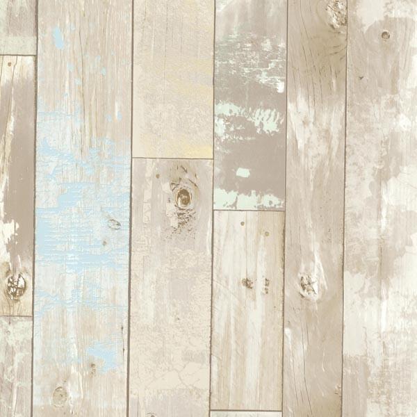 Dean Neutral Distressed Wood Panel Wallpaper Bolt   Rustic   Wallpaper 600x600