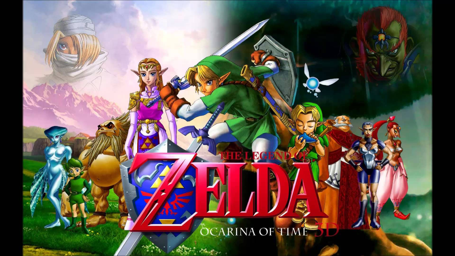 Free Download Zelda Ocarina Of Time Wallpaper Hd Desktop