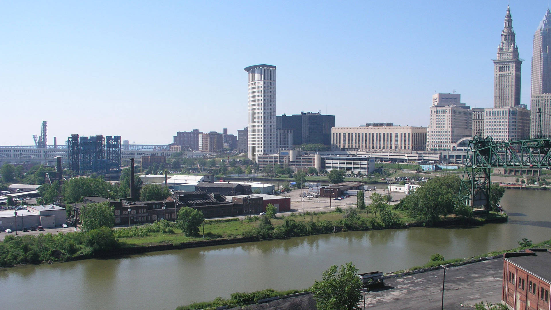 downtown cleveland ohio wallpaper - photo #25
