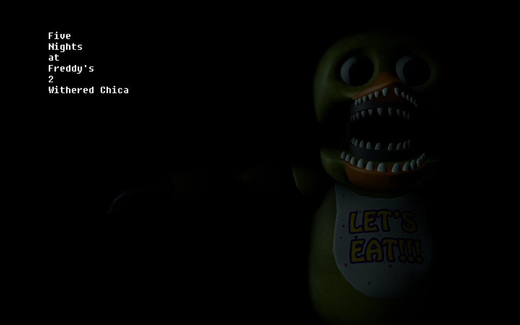 Gmod] FNAF 2 Wallpaper WitheredOld Chica V2 by Dell Conagher97 on 1024x640