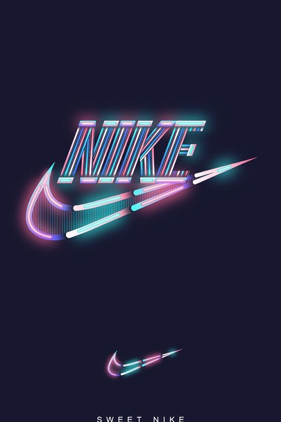 Super cute galaxy Nike wallpaper Pinteres wallpapers 576x864