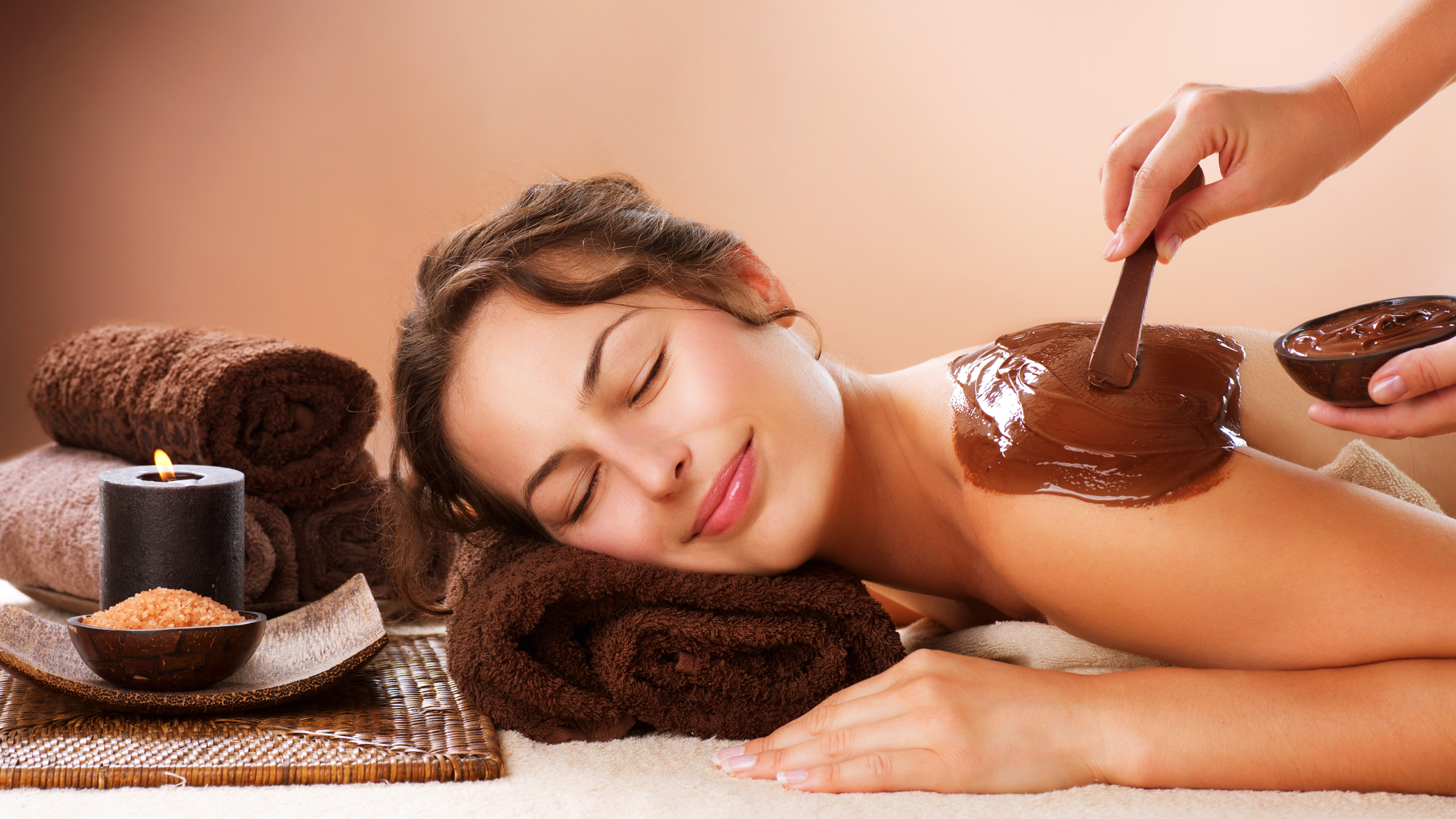 Chocolate spa hd pictures Only hd wallpapers 2560x1440