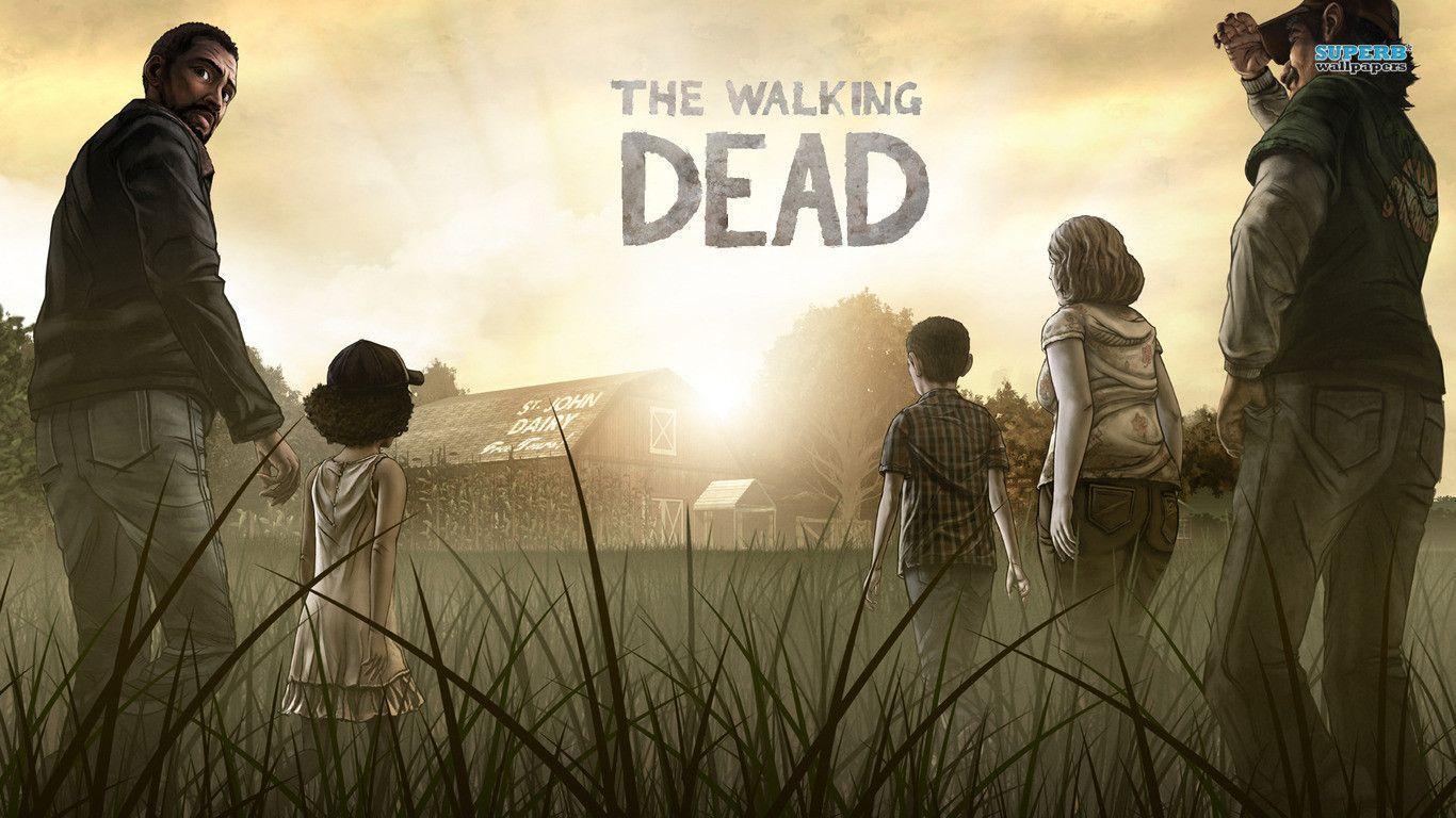 The Walking Dead Wallpapers 1366x768 1366x768