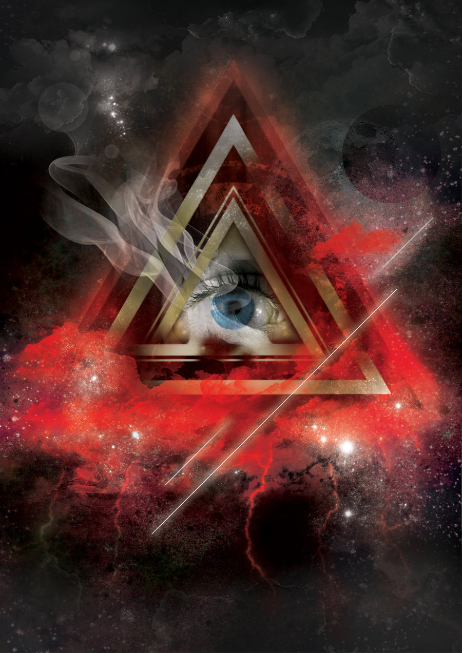 All Seeing Eye By Coldbluefire 900x1273