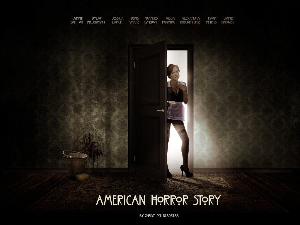 49 ahs hotel wallpaper on wallpapersafari - American horror story wallpaper ...