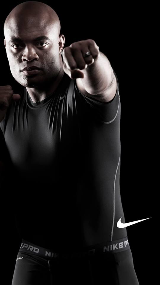 iPhone QUEBRADO do Anderson Silva UFC iPhone Wallpaper Brasil 540x960