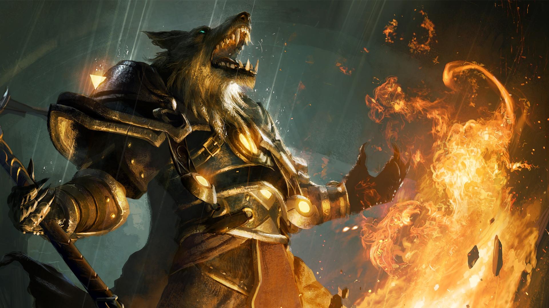 World of Warcraft Cataclysm   Worgen desktop wallpaper 1920x1080