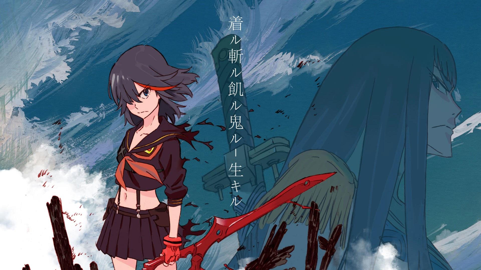 Kill la Kill anime girl wallpaper 1920x1080 a165 1920x1080