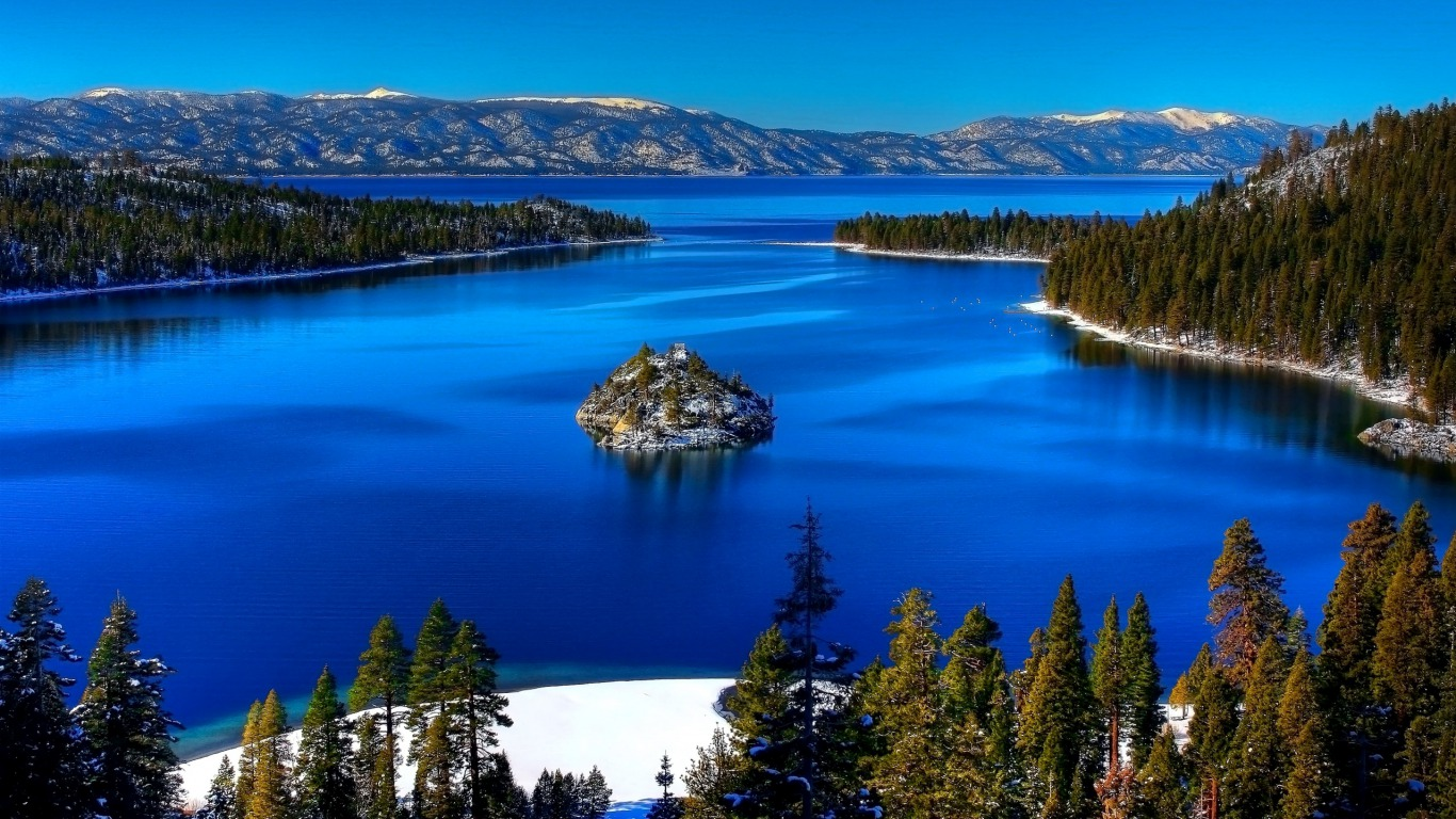 Earth   Lake Lake Tahoe Wallpaper 1366x768