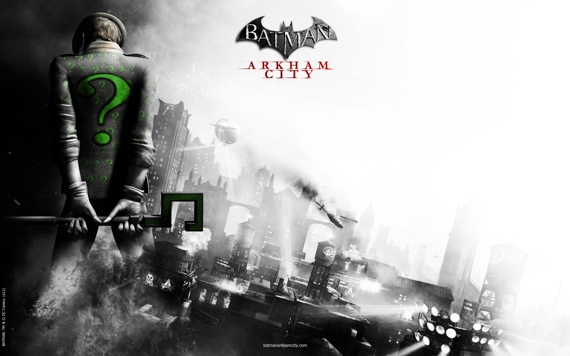 Batman   Arkham City Wallpaper Wallpapers Desktop Wallpapers 1920x1200