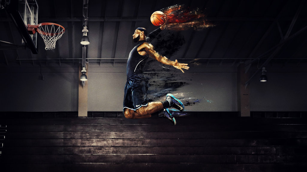 Lebron James Wallpapers Dunk 2015 1024x576