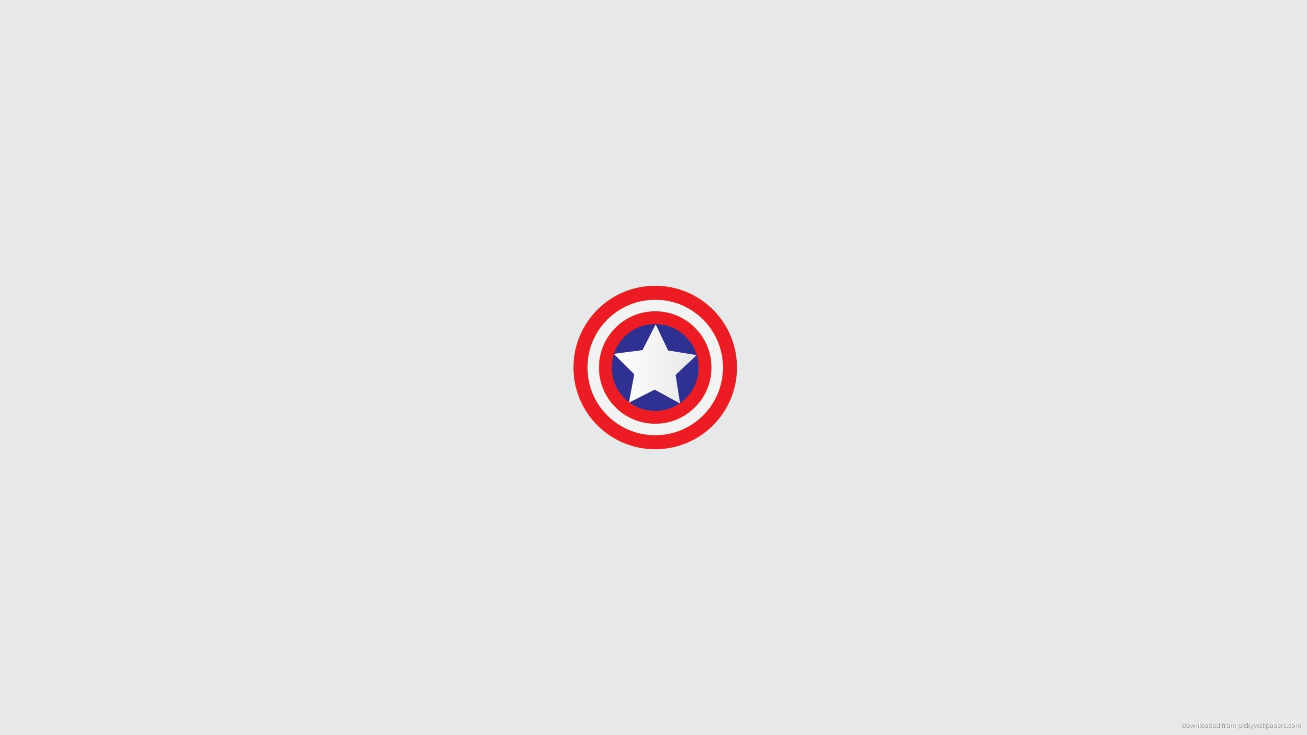 captain america minimal shield wallpaper miscellaneous clean 2560x1440
