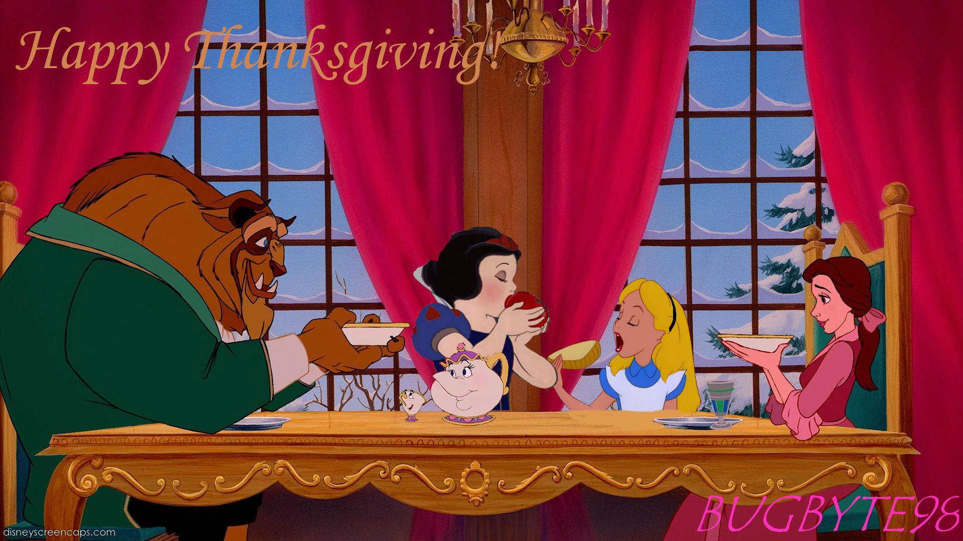 Disney Thanksgiving Wallpaper Wallpapersafari