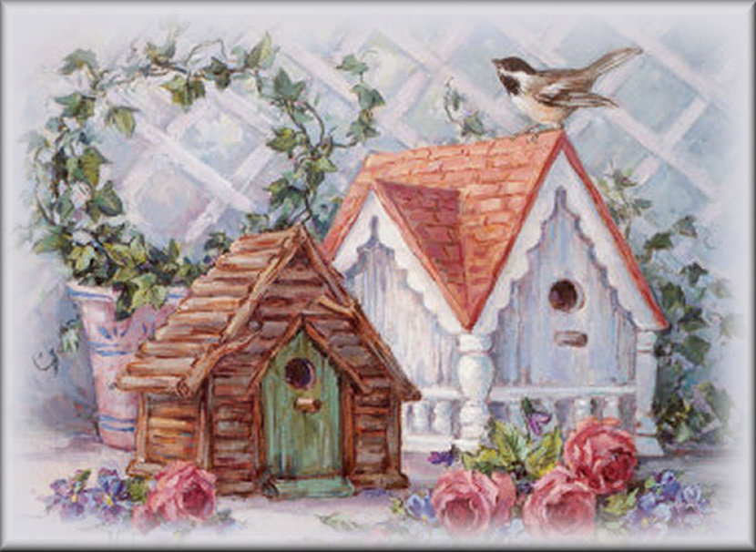 bird house wallpaper   ForWallpapercom 830x606