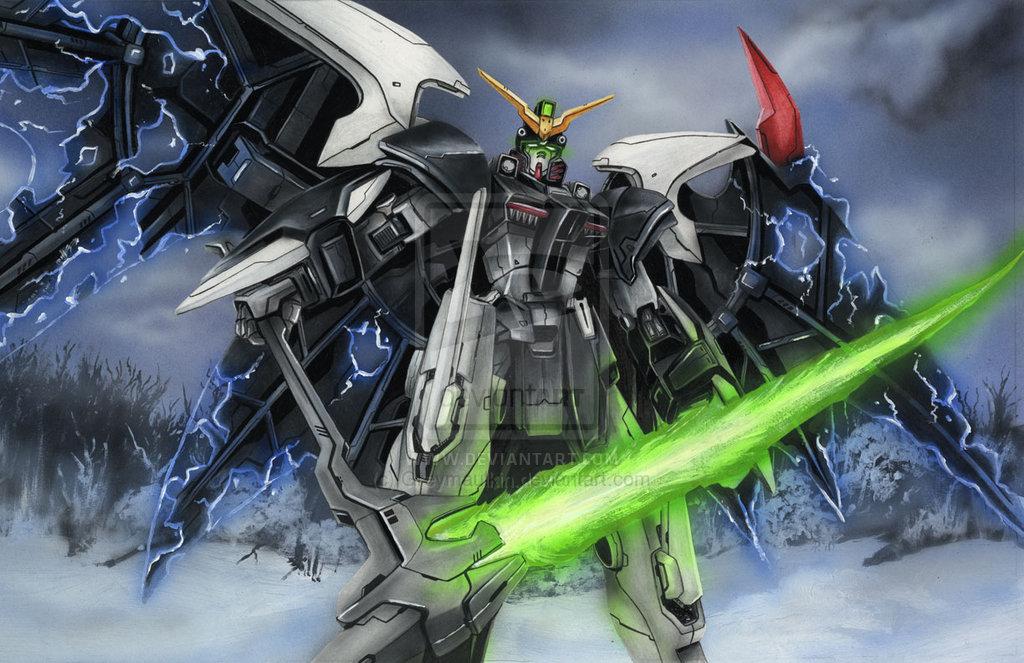 download Gundam Wing Deathscythe Wallpaper Endless waltz 1024x663